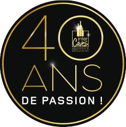 Logo 40 ans de Passion Inter Caves